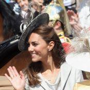 Kate Middleton, telle une princesse de conte de fées, répand sa beauté...