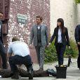 Patrick Jane, le héros de Mentalist et l'agent Lisbonne sur une scène de crime !