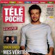 Télé Poche avec Simon Baker en couverture en kiosque le 13 juin 2011.