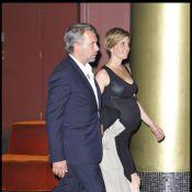 Philippe Torreton, bientôt papa, s'affiche avec sa femme enceinte