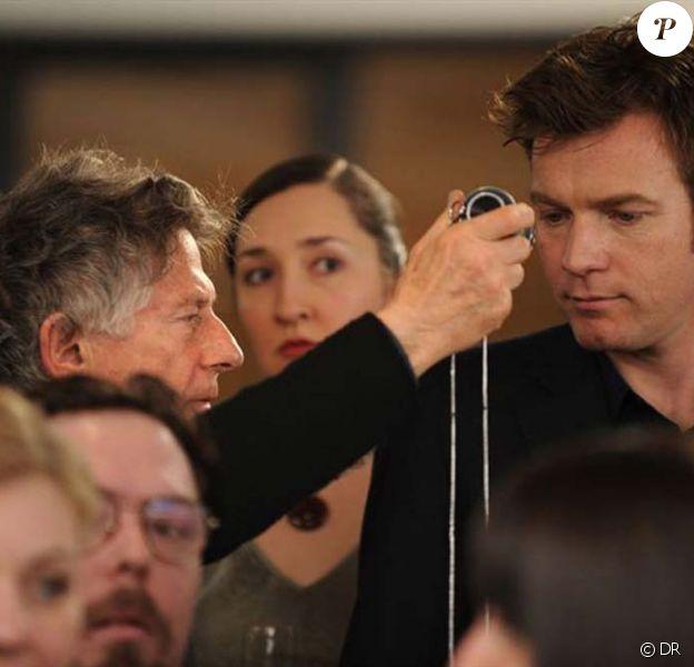 Ewan McGregor et Roman Polanski sur le tournage de The Ghost Writer, sortie en salle en mars 2010.