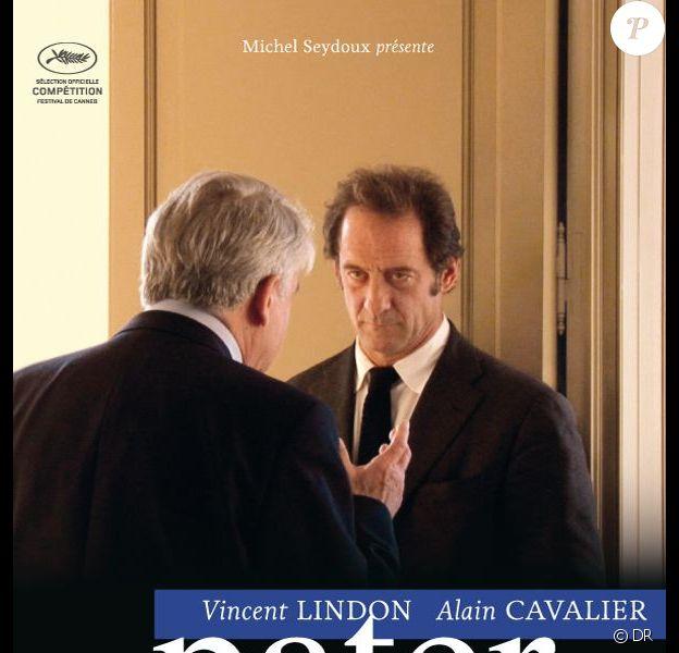 L'affiche du film Pater d'Alain Cavalier