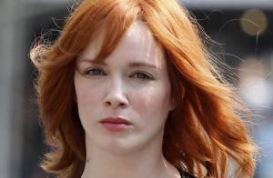 Christina Hendricks : La magnifique actrice a littéralement pris feu