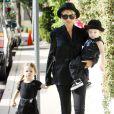 Nicole Richie et ses enfants sont super lookés et ont accordé leurs tenues à Los Angeles le 16 juin 2011