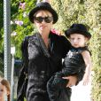 Nicole Richie et son adorable Sparrow à Los Angeles le 16 juin 2011