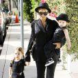 Nicole Richie a transmis son sens de la mode à ses adorables enfants Harlow et Sparrow ! Le 16 juin à Los Angeles