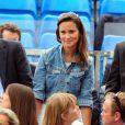 Pippa Middleton et son ami (?) George Percy assistaient ensemble, le 9 juin 2011, à la finale du tournoi qu Queen's (Purray-Tsonga, victoire de l'Ecossais).