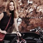 Audrey Marnay, Amazone captivante pour Longchamp...