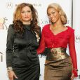 Beyonce Knowles et sa mere Tina