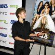 Le 23 juin 2011 à New York, Justin Bieber est venu soutenir sa girlfriend Selena Gomez