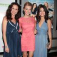 Andie MacDowell, Katie Cassidy et Selena Gomez le 23 juin 2011 à New York
