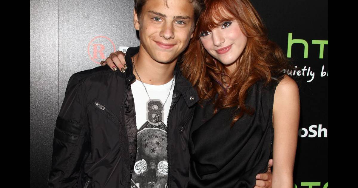 Bella Thorne And Garrett Backstrom Bella Thorne et son ch...