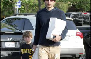 PHOTOS : Après-midi entre hommes pour David Duchovny et son fils...