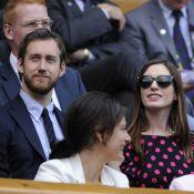 Anne Hathaway et son doux fiancé assistent à la victoire de Petra Kvitova