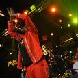 Jimmy Cliff sur la scène du Miles Davis Hall du 45e Festival de Montreux, le 1er juillet 2011