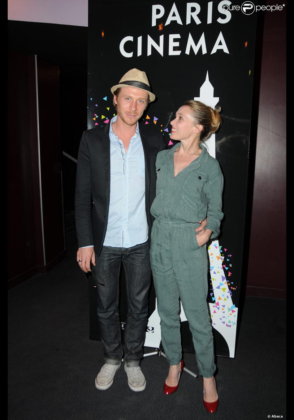 Nicolas Bridet et Anne Marivin lors de l'avant-première du film Tu seras  mon fils dans le cadre du festival Paris Cinéma le 4 juillet 2011
