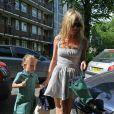Kate Moss et Lila-Grace à Londres, le 12/05/08