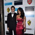 Cesc Fabregas et sa petite amie Carla Dona Garcia en décembre 2010