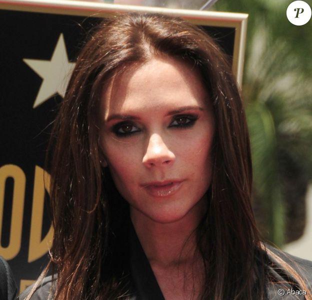 Le visage creusé de Victoria Beckham, à quelques jours de son accouchement. Los Angeles, le 23 Mai 2011.