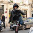 Voilà un corps de mannequin bien vite retrouvé pour Miranda Kerr, tout juste deux mois après son accouchement. Paris, le 3 mars 2011.