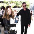 Rebecca Gayheart et Eric Dane avec leur fille Billie le 18 juin 2011