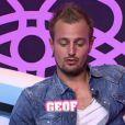 Geof dans la quotidienne de Secret Story 5 le mardi 12 juillet 2011 sur TF1