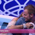 Geof et Aurélie se retrouvent dans le confessionnal dans la quotidienne de Secret Story 5 le mardi 12 juillet 2011 sur TF1