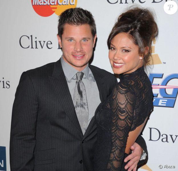 Nick Lachey et Vanessa Minnillo en février 2011 à Los Angeles