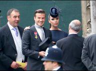 David et Victoria Beckham présentent tendrement leur bébé, la petite Harper