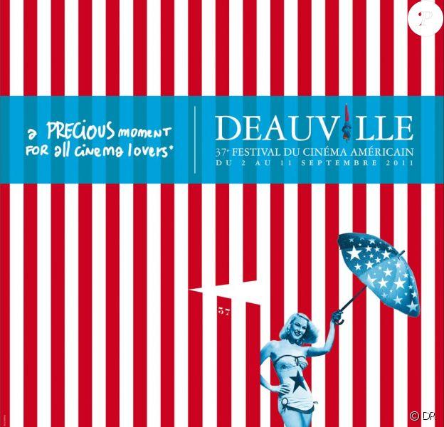 L'affiche du festival de Deauville 2011