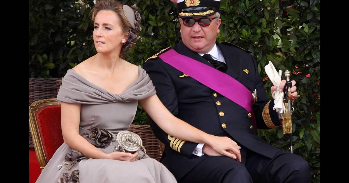 Le prince laurent de belgique et son pouse la princesse claire photo lors de la f te - Laurent bignolas et son epouse ...