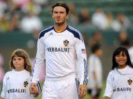 David Beckham, papa parfait pendant que Victoria se détend chez Spielberg