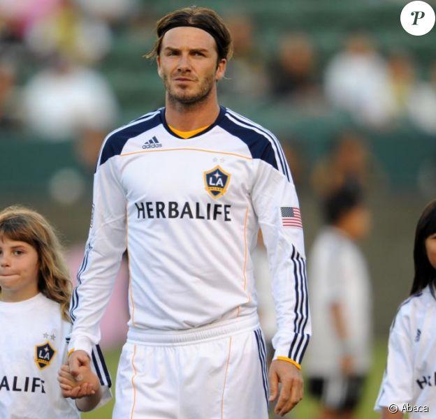 David Beckham le 20 juillet sur le terrain