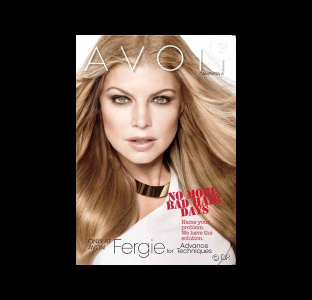 La chanteuse Fergie renforce son partenariat avec Avon et devient égérie de leur kit de coloration Advances Techniques.