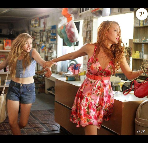 Chloe Moretz et Blake Lively dans le premier cliché du film Hick