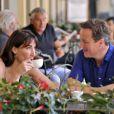 Le premier ministre britannique David Cameron et son épouse Samantha profitent de quelques jours de vacances en Italie, le 31 juillet 2011.