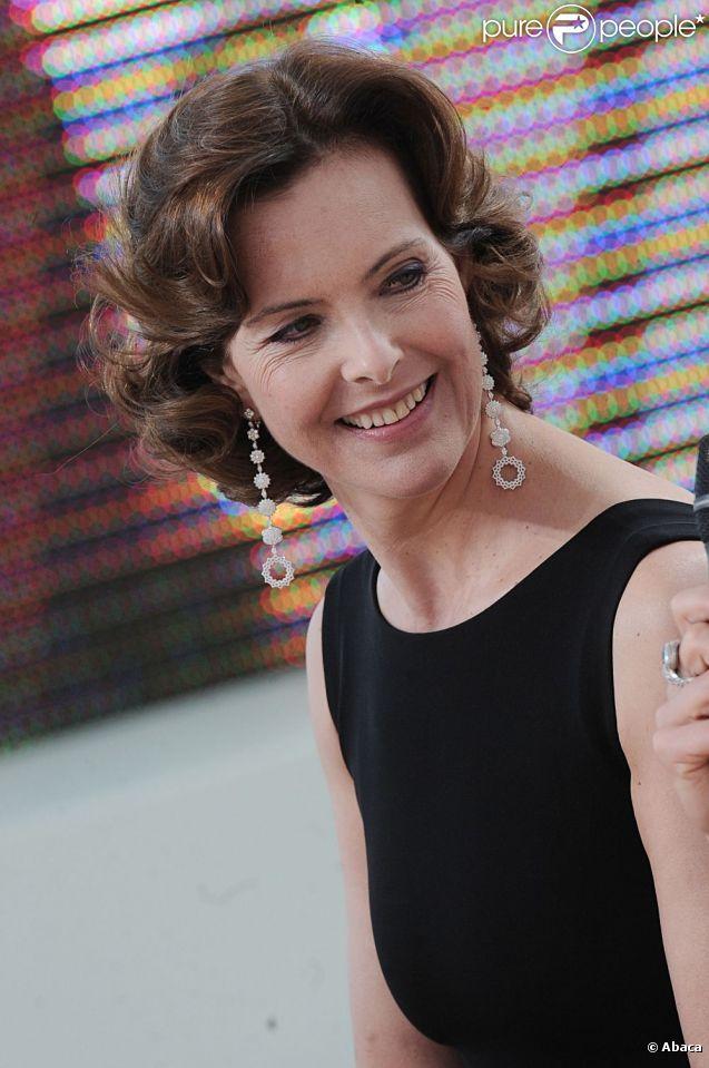 Carole Bouquet à Cannes en mai 2011