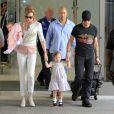 Nicole Kidman et Keith Urban avec leurs filles Sunday Rose et Faith Margaret le 6 juillet 2011
