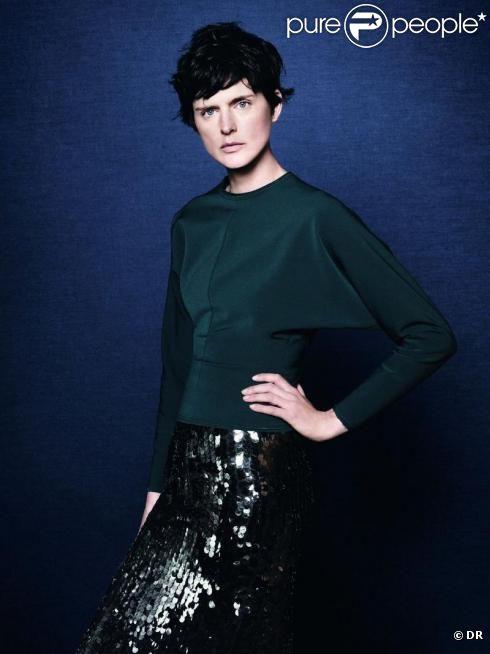 Stella Tennant pour la campagne Zara