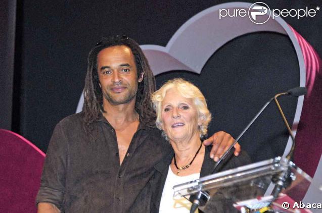 Yannick Noah et sa mère Marie-Claire