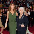 Celine Dion et sa maman Thérèse