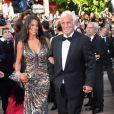 Jean-Paul Belmondo et Barbara Gandolfi à Cannes, en mai 2011.