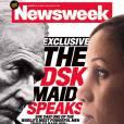 Nafissatou Diallo et Dominique Strauss-Kahn en couverture de  Newsweek  le 25 juillet 2011.