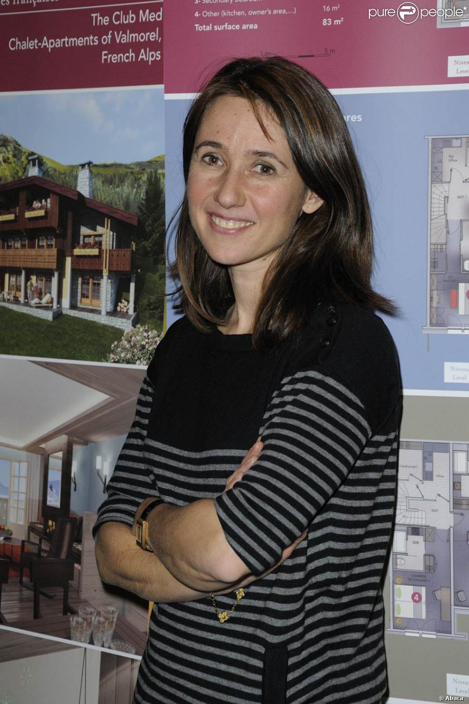 Alexia Laroche-Joubert en février 2011. - Purepeople