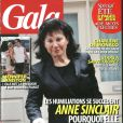 Couverture du magazine Gala du mercredi 10 août 2011.