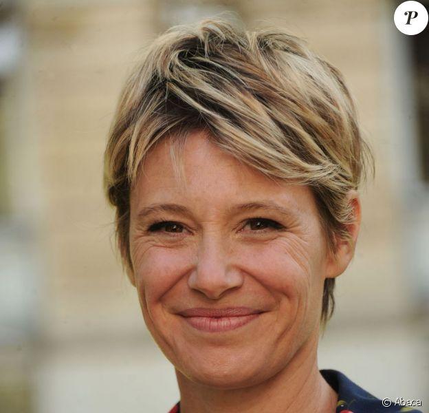 Maïtena Biraben s'offrira dès la rentrée des week-ends de trois jours ! Ici à Paris, le 25 mai 2011