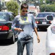 Halle Berry va chercher sa fille Nahla à l'école le 12 août à Los Angeles.