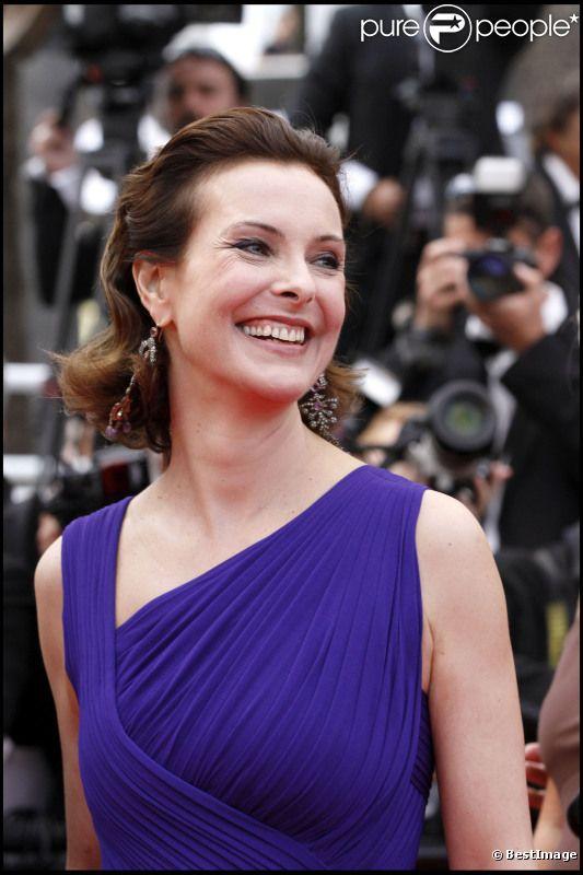Carole Bouquet à Cannes, en mai 2011.