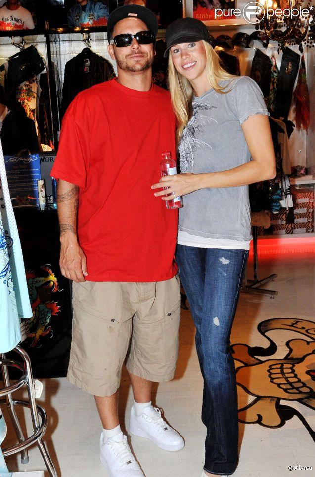Kevin Federline et sa fiancée Victoria en novembre 2009