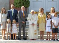 Famille d'Espagne : La tribu reçoit Benoît XVI sous un radieux soleil